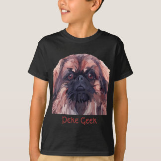 """T-tröja för pojkar Pekingese """"för tuff Tee Shirt"""