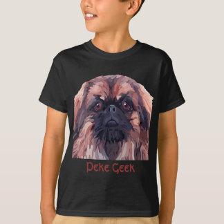 """T-tröja för pojkar Pekingese """"för tuff Tröja"""