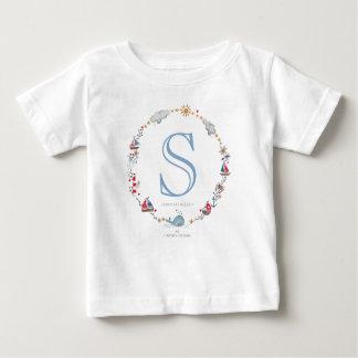 T-tröja för pojke | för Monogramhavsval | Tee Shirts