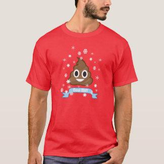 T-tröja för PoopEmoji rolig jul Tshirts