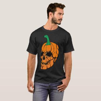 T-tröja för pumpaskalleHalloween manar T-shirt