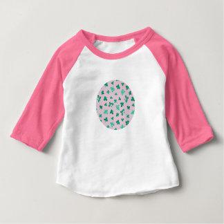 T-tröja för Raglan för klöverlövbaby Tröjor