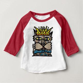 """T-tröja för Raglan """"för royalty"""" baby 3/4 T-shirt"""