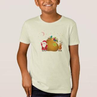 T-tröja för Santa julstjärna Tee