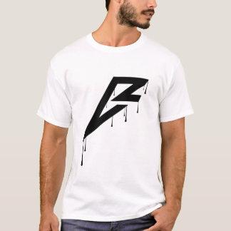 T-tröja för slätt för Breezer logotypSplatter Tee Shirts