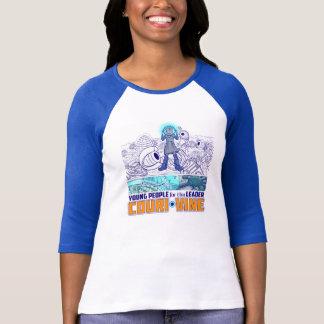 T-tröja för sleeve för Couri Vine 3/4 T-shirt