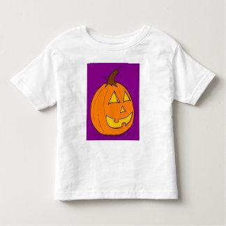 T-tröja för småbarn för jackolykta purpurfärgad tröjor