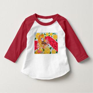 T-tröja för småbarnamerikanApperal Raglan Tee Shirt