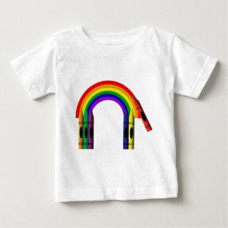 T-tröja för spädbarn för kritor för tshirts