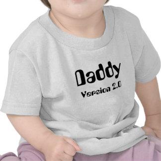 T-tröja för spädbarn för pappaversion 2,0