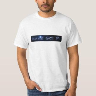 T-tröja för sparaSci Fi officiell regel T-shirts