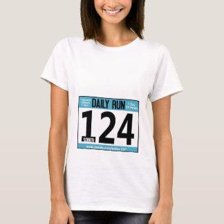 T-tröja för springertävlingmärkre tröja