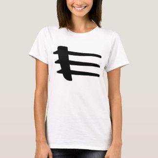 T-tröja för Strake för Chrysler korseldsida T-shirt
