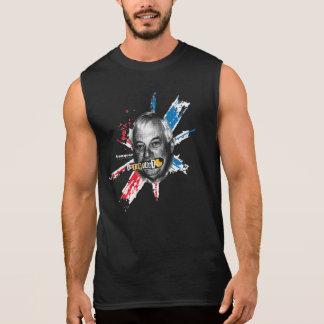 T-tröja för syrliga | svart man för ägg Sleeveless Ärmlösa Tees