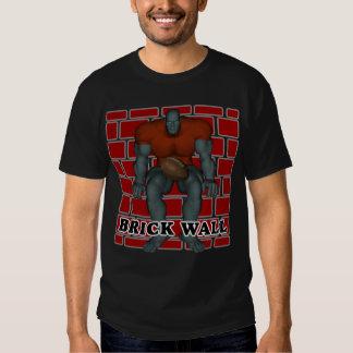 T-tröja för tegelstenväggfotboll tee shirts