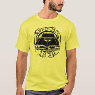 T-tröja för toppet bi för 1970 fint grafisk t-shirt