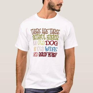 T-tröja för tre trogen vänner tshirts