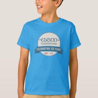T-tröja för ungeEdison 125. årsdag T-shirt