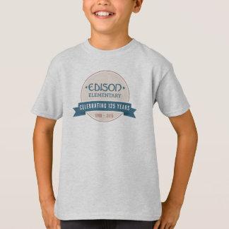T-tröja för ungeEdison 125. årsdag Tee Shirt