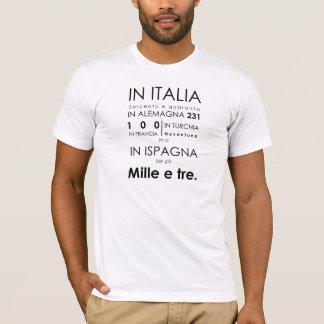 T-tröja för universitetslärareGiovanni opera Tee Shirt