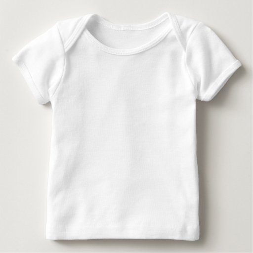 Baby American Apparel Lap T-Shirt, Vit