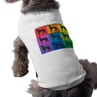 T-tröja för vinthundkonstvovve hundtröja