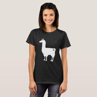 T-tröja för vitLlamadamer Tröja