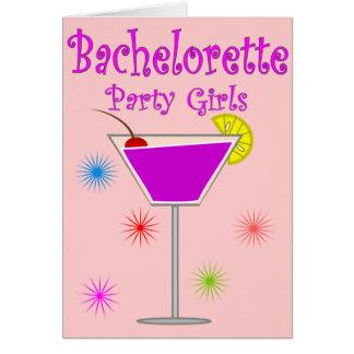T-tröja & gåvor för Bachelorette partyflickor Hälsningskort