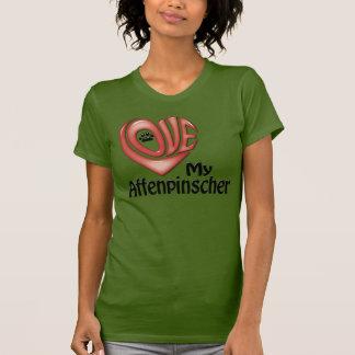 T-tröja kvinnor: Älska min Affenpinscher