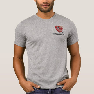 T-tröja manar kärlek min Catahoula Leopardhund Tshirts