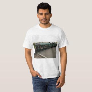 T-tröja med ångatågbilden tee