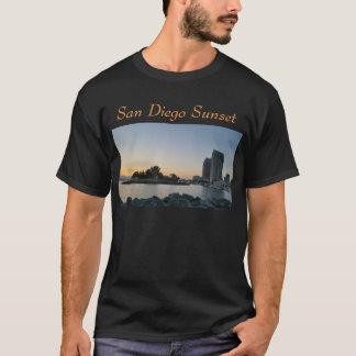 T-tröja - San Diego solnedgång Tröjor