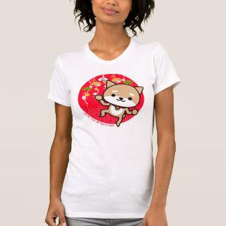 T-tröja - valp - röd japan t-shirt