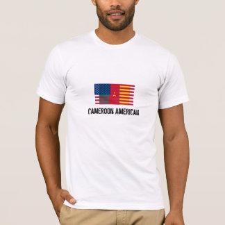 T-tröjaKamerunAmerika flagga Tröja