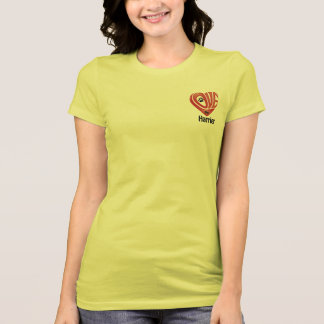 T-tröjaKvinna kärlek min engelsk harhund T Shirt