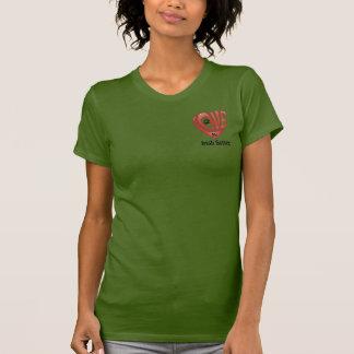 T-tröjaKvinna kärlek min irländska Setter