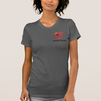 T-tröjaKvinna kärlek min isländska Sheepdog Tshirts