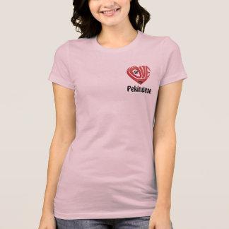 T-tröjaKvinna kärlek min Pekingese