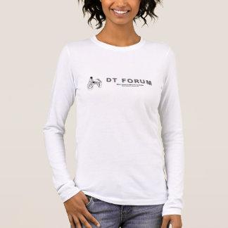 T-tröjalångärmader - avskiljare-fora. Logotyp Tshirts