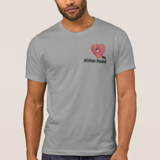 T-tröjamanar: Älska min afghanska hund T Shirts