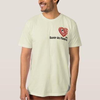 T-tröjamäns kärlek min Bouvier des Flandres T-shirts