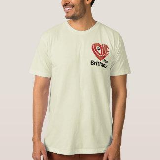 T-tröjamäns kärlek min Brittany Tshirts