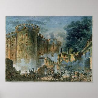 Ta av bastillen, 14th Juli 1789 Poster