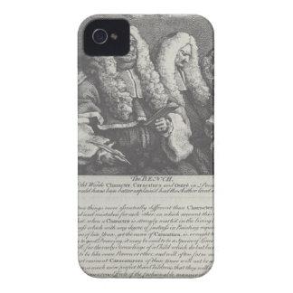 Ta av planet av William Hogarth iPhone 4 Case-Mate Skal