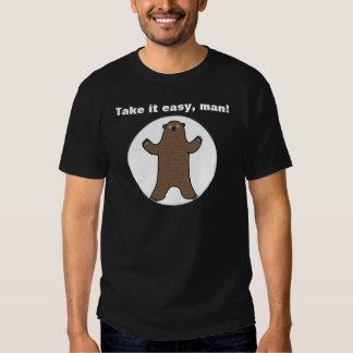 Ta det lätta Big Bear den roliga T-tröja för honom Tee