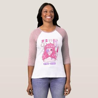 Ta din medicinRaglanutslagsplats T-shirts