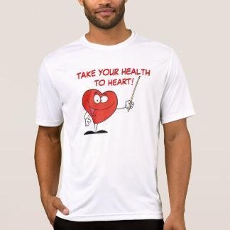 Ta ditt vård- till hjärta t-shirts