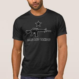 Ta kommer det T-tröja T-shirts