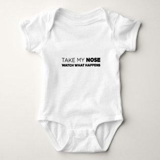 Ta min näsa tee shirts