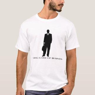 Ta omsorg av affären t-shirt